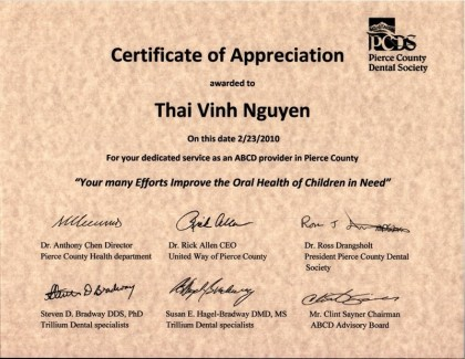 certificate-of-appreciation-pierce-county-dental-society