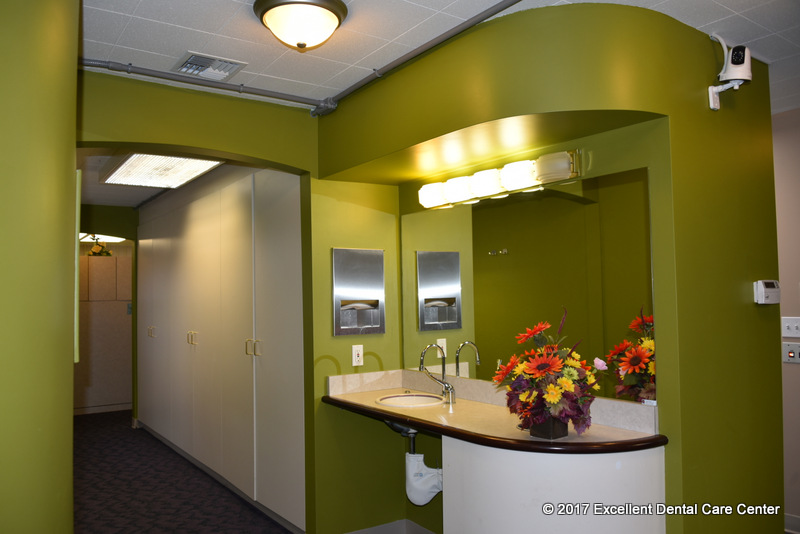 Excellent Dental Care Center Tacoma Cleaning Area